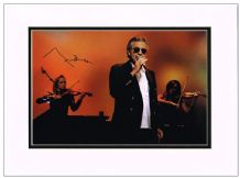 Andrea Bocelli Autograph Photo Signed